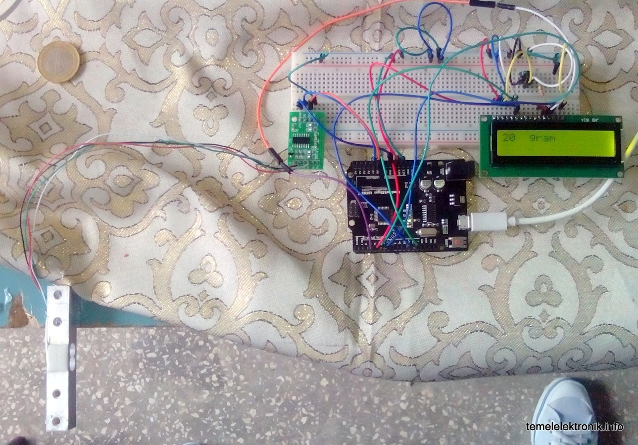 Arduino ile  Hassas Terazi Yapımı