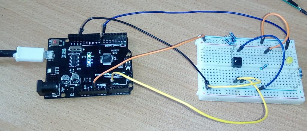 Mdulo Sensor De Obstculos Reflectivo Infrarojo, Arduino
